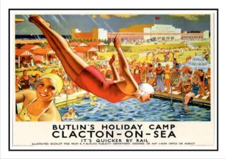 CPD Image Clacton LNER poster