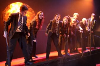 Young People Performing in Lord of the Flies Photo Sally Parkinson